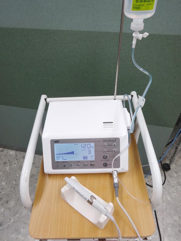 超音波骨切削装置(バリオサージ3)